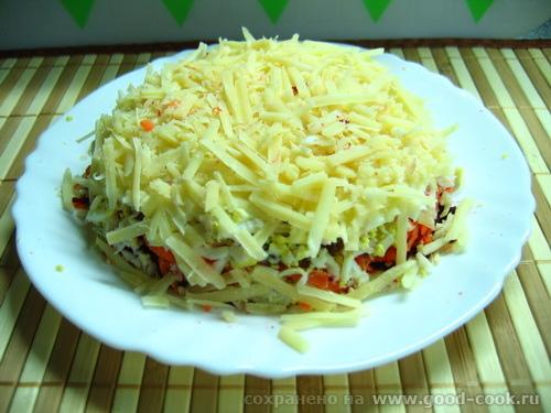 салат с сырой свёклой