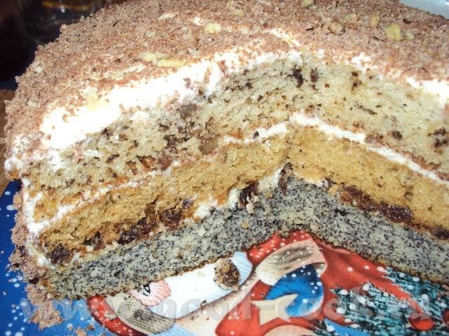 Торт людмила рецепт
