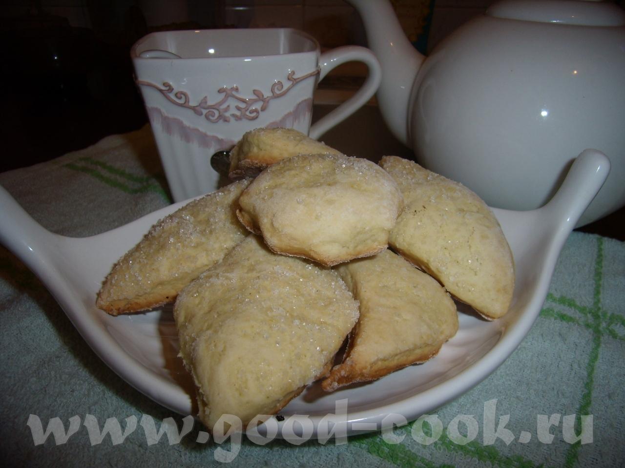 Домашние коржики на сметане рецепт пошагово