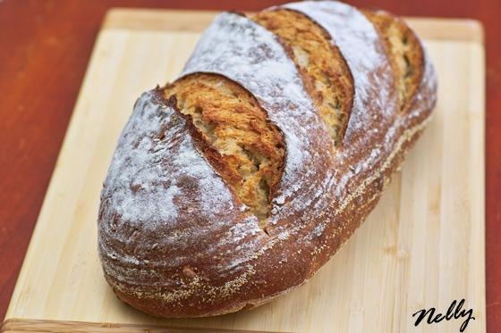 Натуральная закваска из Сан Франциско Классический французский хлеб, Сан Франциско стиль Ржаной хле... - 3