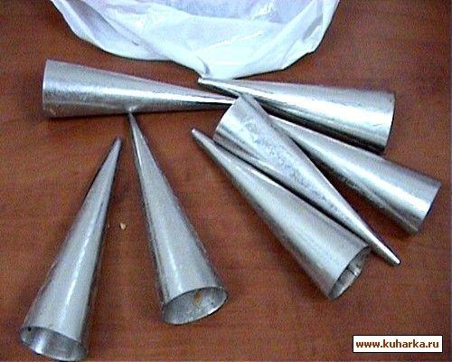 Форма для трубочек своими руками 54
