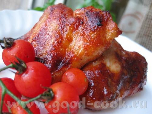 Сегодня на ужин у меня была такая вкуснятина Карамельные куриные крылышки /Poulet caramйlisй по рец...