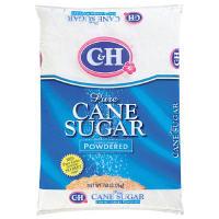 Часто более дешёвая сахарная пудра идёт с добавление крахмала (для предотвращения комков)