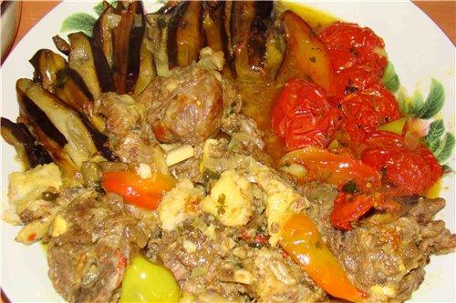 Азербайджанская кухня рецепты из мяса