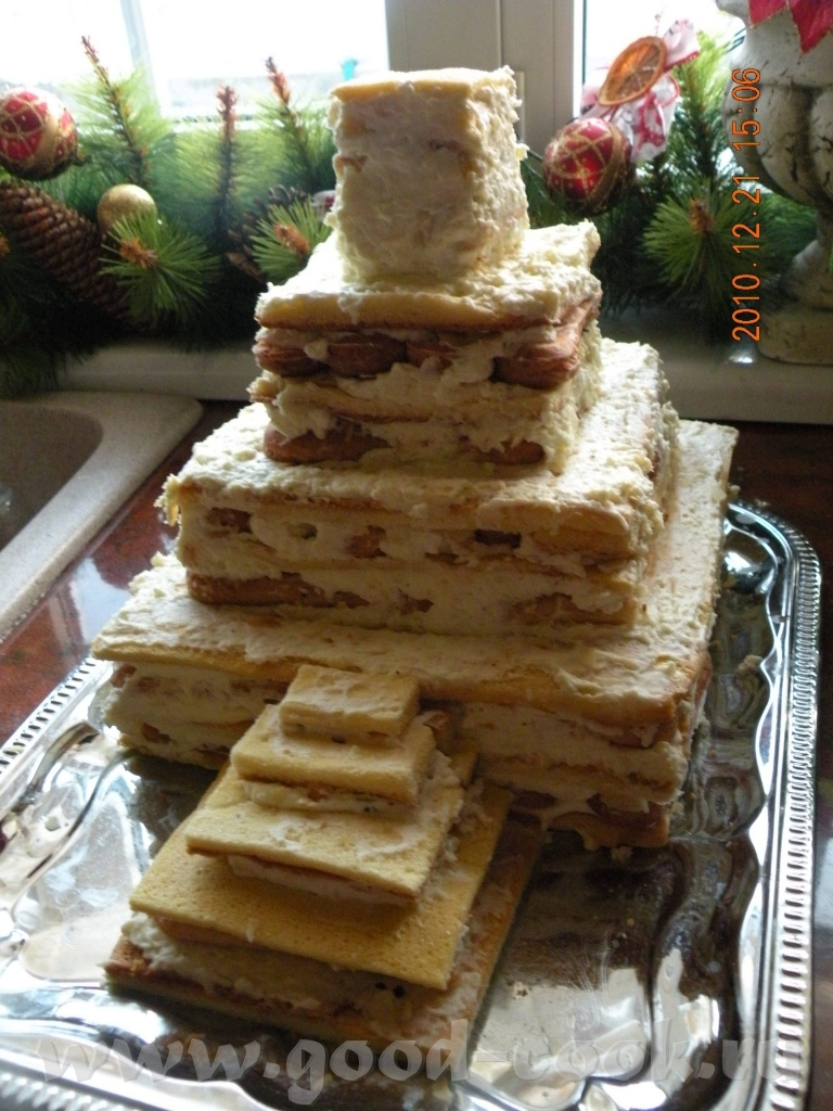 Торт замок пошагово фото