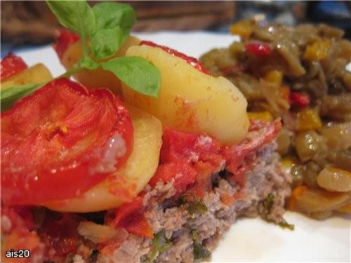 """Сегодня к ужину Сашу ожидало свеженькое горячее блюдо из Арабской кухни Кюфта у батата би санийя"""" (... - 2"""