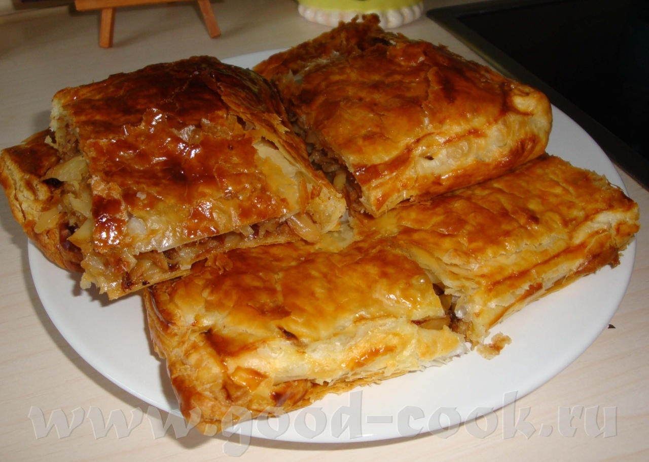 Слоеное тесто рецепты капуста