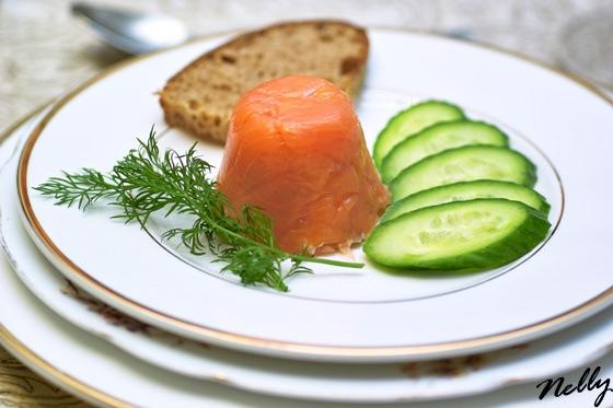Мусс из копчёного лосося