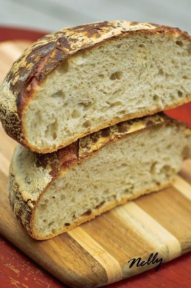 Белый хлеб на закваске от Бертинета