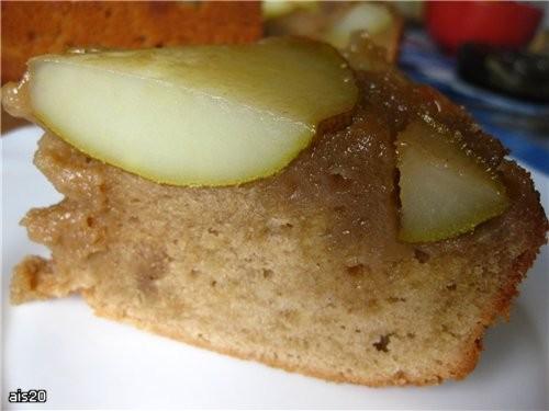 Шоколадный грушевый пирог источник: Готовим - 6