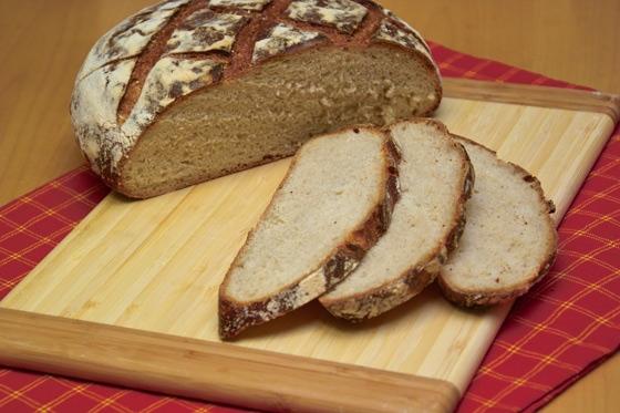 На новой свежей закваске испекла этот хлеб - 2