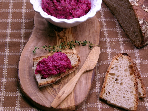 Дип свекольный Очень похож вкусом на наш привычный русский салат из свеклы, но все же не совсем то - 3