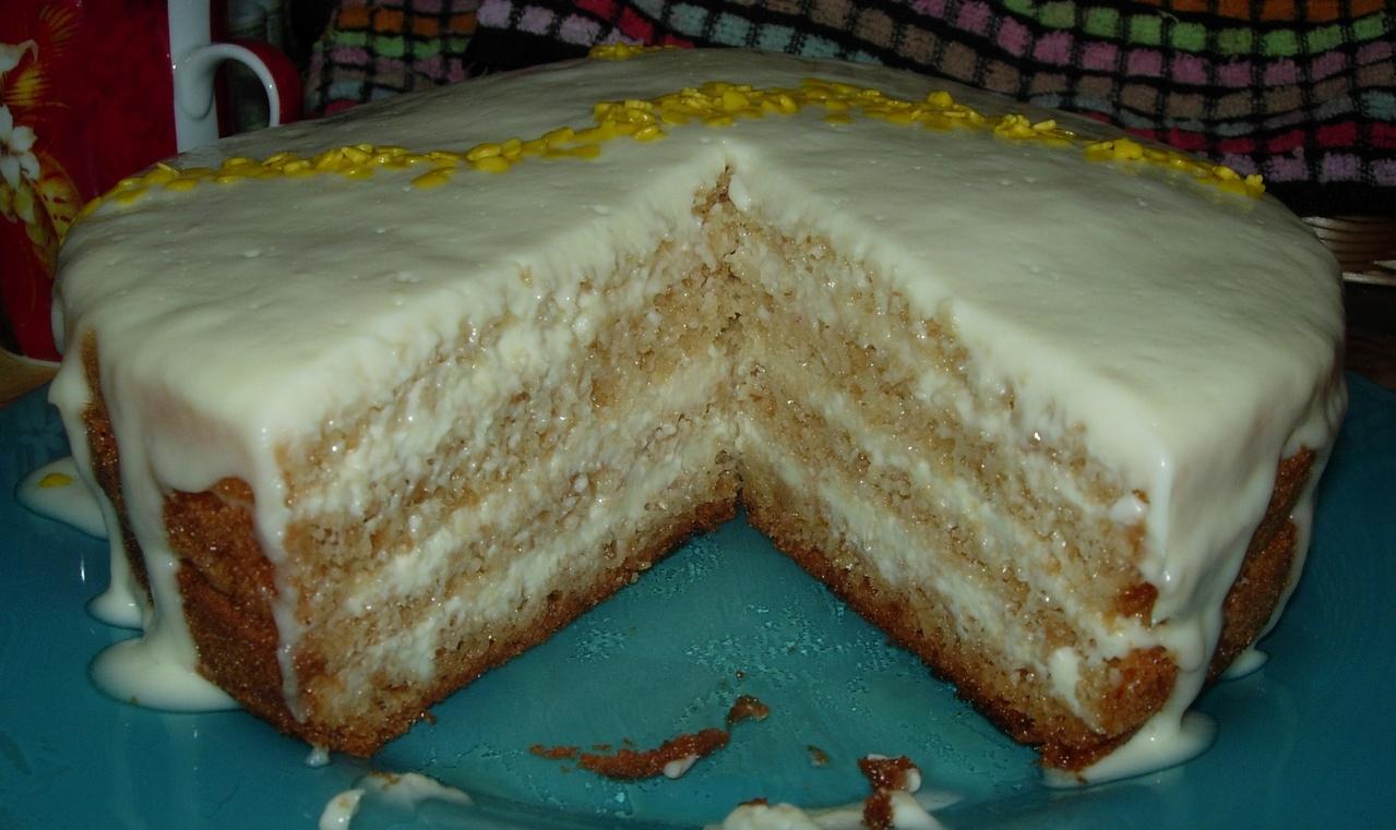 Торт медовик со сметаной с же