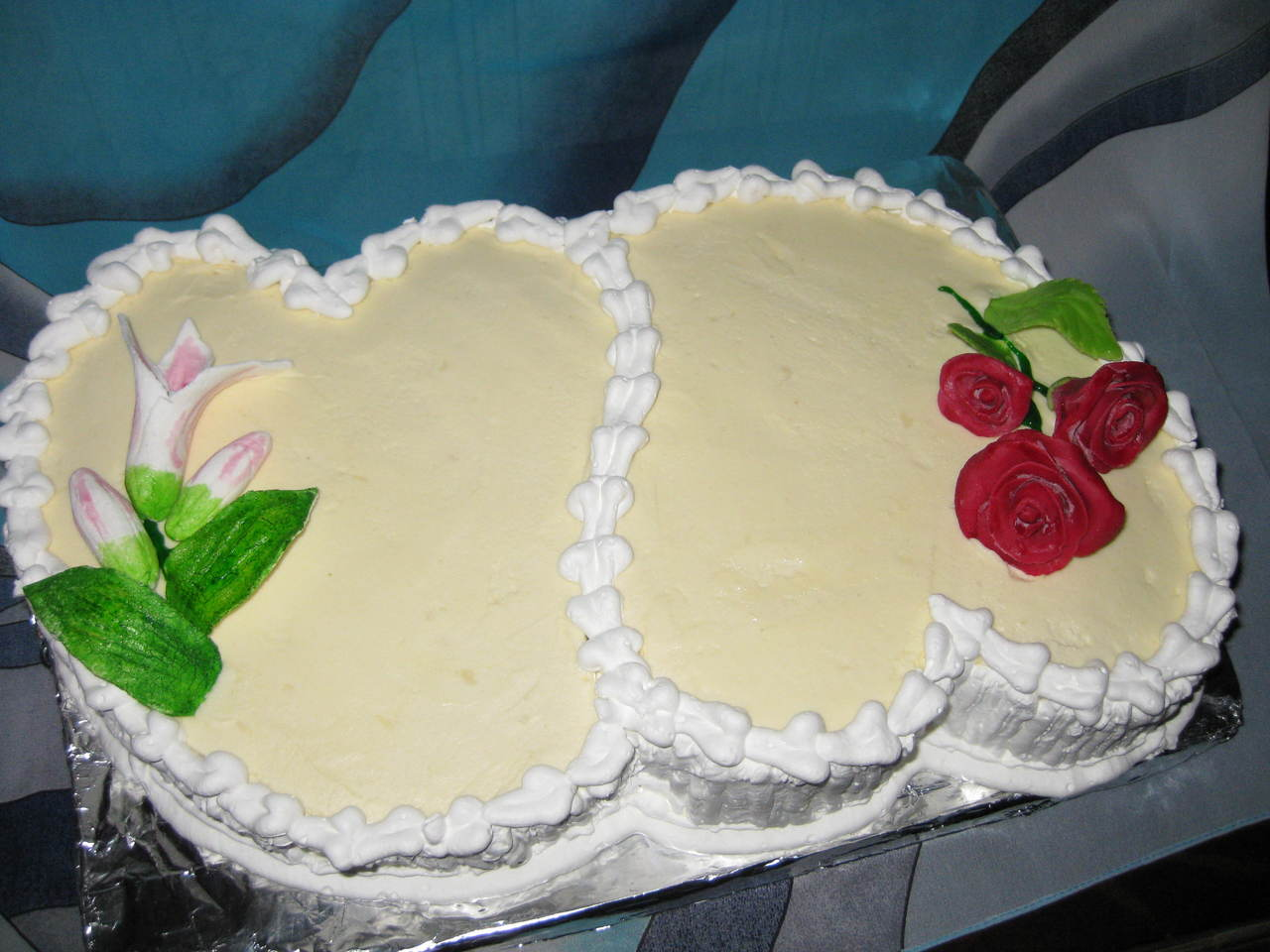 Как украсить торт в виде сердца в домашних условиях фото