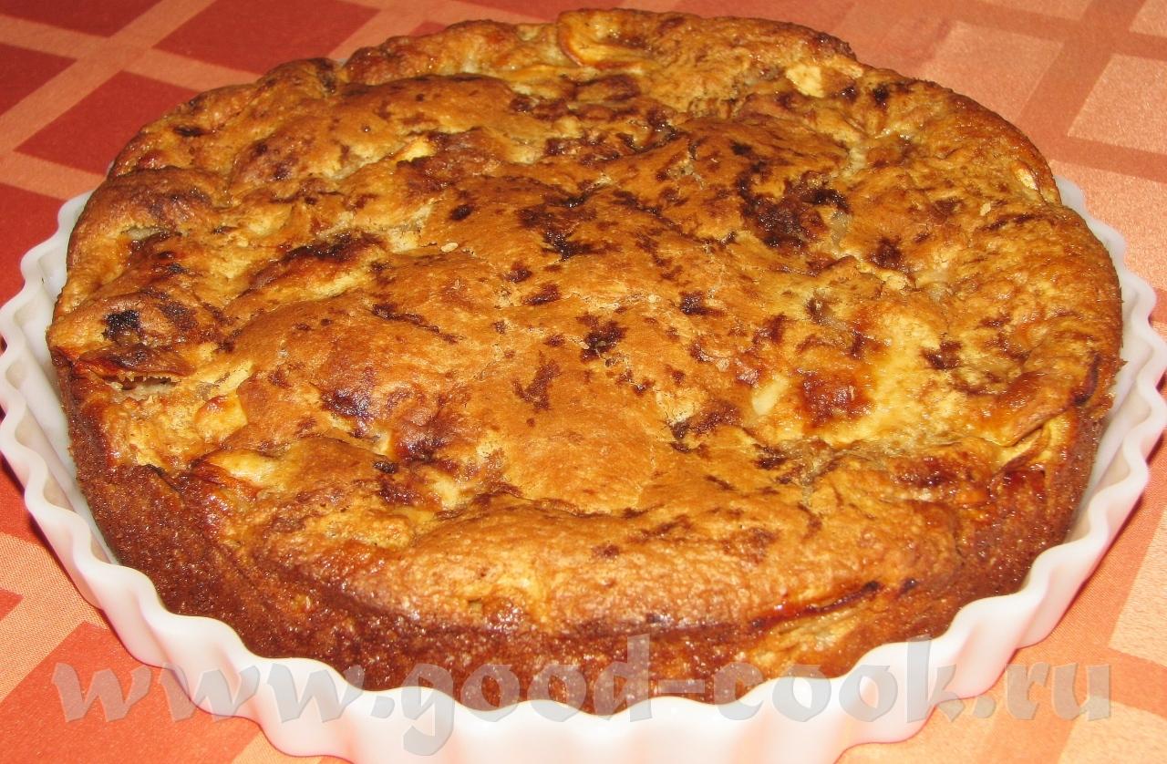 Песочный пирог я яблоками пошаговый фото рецепт