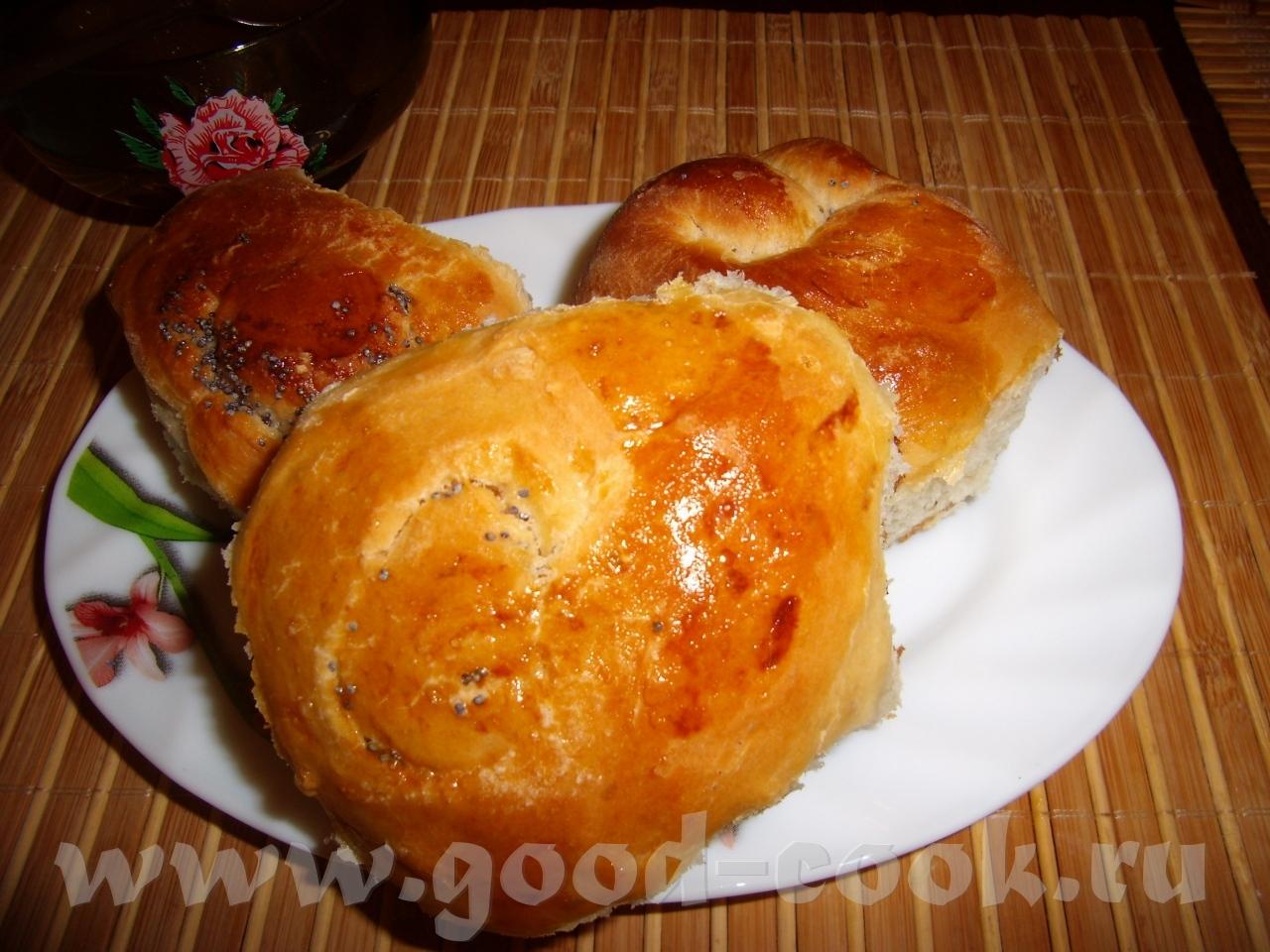 Рецепт булочек в духовке