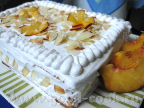 Тортик вафельно-фруктовый