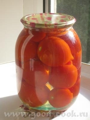 Сегодня у меня снова был день консервации, муж привез с дачи первые помидорчики