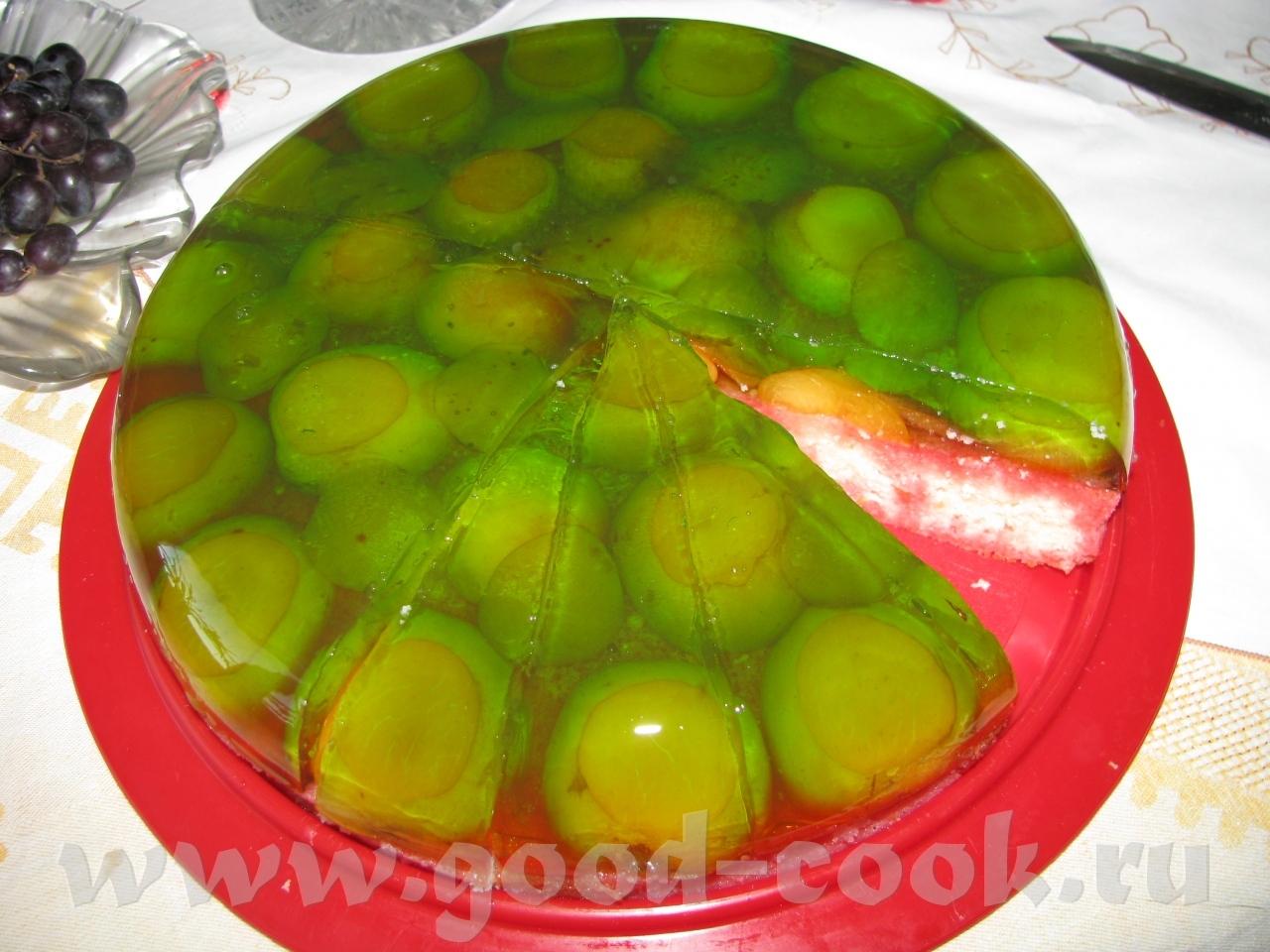 Рецепты фруктовых салатов с желатином с