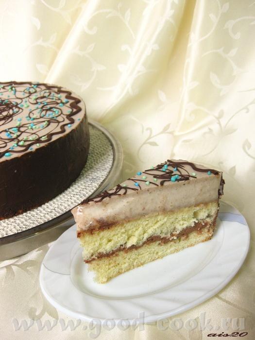 Торт с безе и масляным кремом рецепт