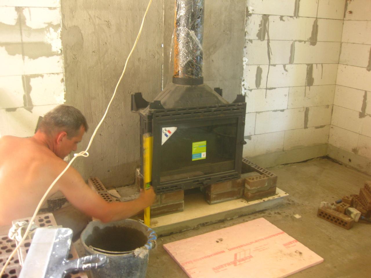 Как построить камин своими руками - пошаговая инструкция! 17