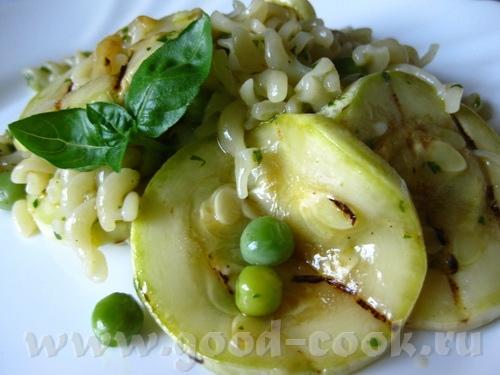 Салат с макаронами и кабачками от Оля, спасибо за вкусный рецепт