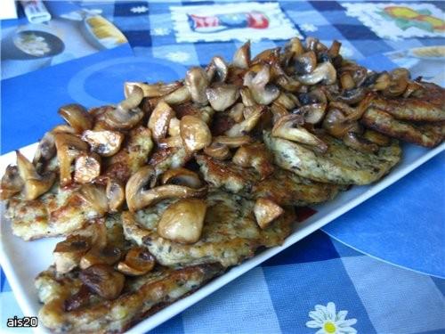 Несу вам угощение с моего вчерашнего ужина: Тазик оливье а это уже заправленный майонезом салатик М... - 6
