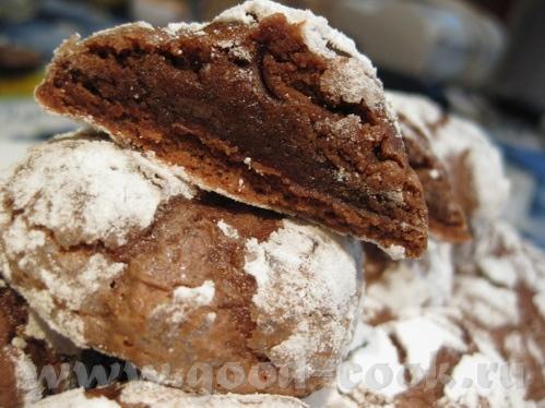 Следующее печенье на нашем форуме мелькало неоднократно, точно могу сказать у Ayn ( Шоколадное пече... - 4