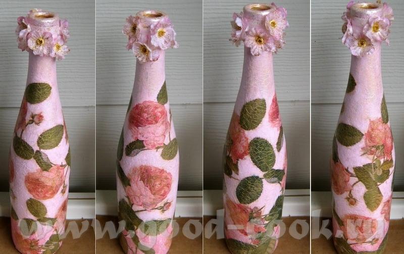 Как из салфеток сделать вазу