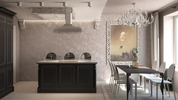 кухня в стиле «ампир»