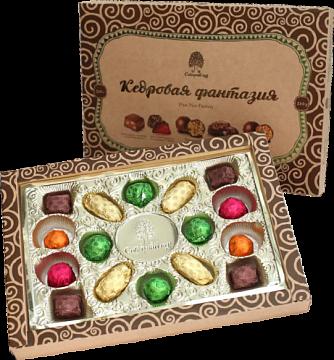 натуральные конфеты кедровая фантазия
