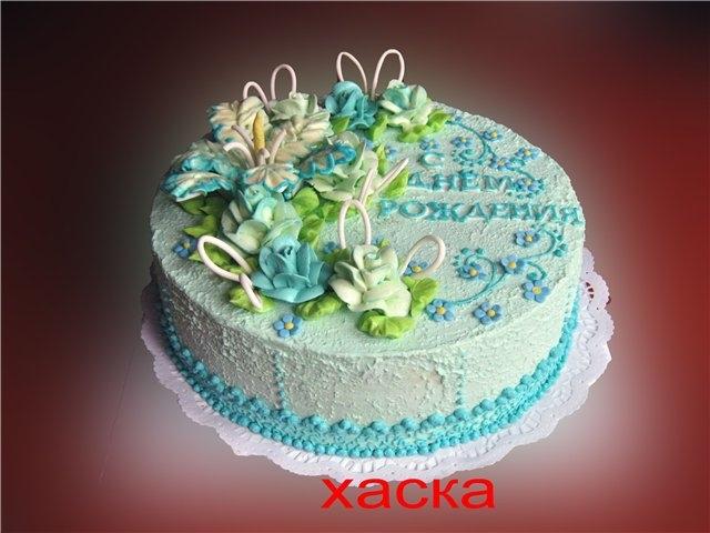 картинки торт украшенный фруктами
