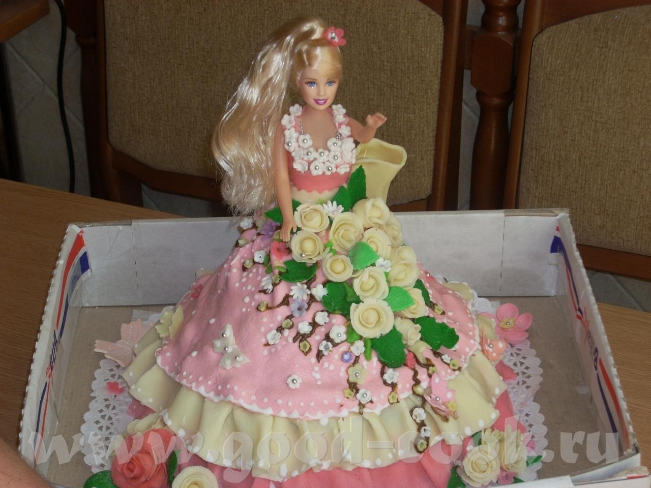 Детский торт Барби / Торты / TVCook: пошаговые рецепты с фото 88