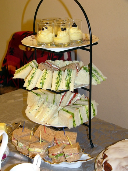 Вспоминая прошедший отпуск, захотелось мне устроить чайную вечеринку дома