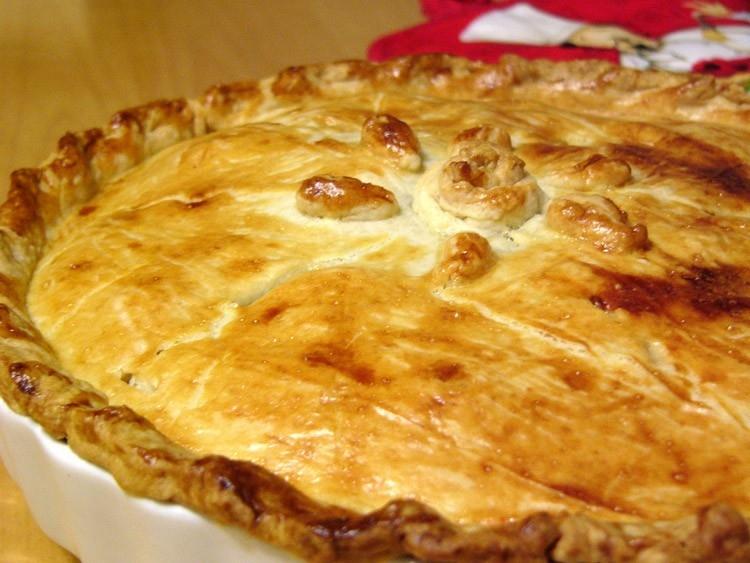 эльзасский яблочный торт (tarte alsacienne)(carioca)
