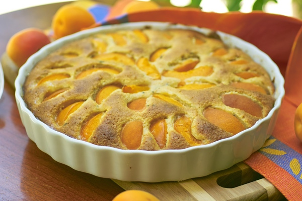 Абрикосовый почти пирог