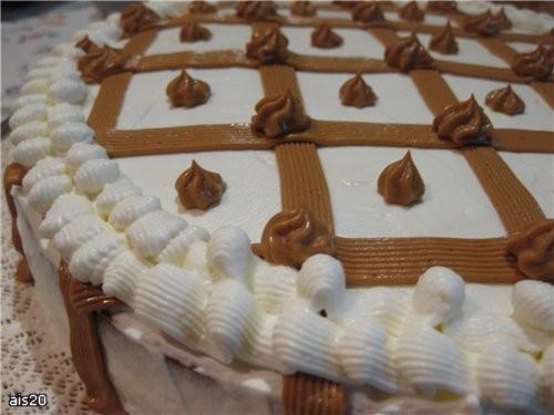 "Ира спасибо за рецепт торта от Jul-Jul с кукинга Торт ""Сникерс"" Коржи пропитывала ликером Тирамису - 2"