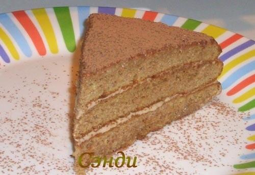 Торт прага по домашнему торт зебра рецепт с фото на кефире, торт.