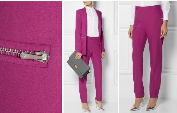 Розовый цвет одежды