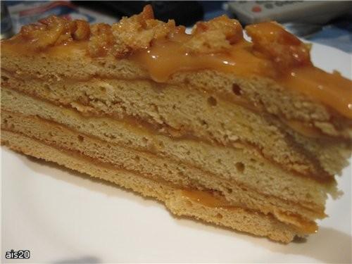 """Оксана, я как обещала бегу к тебе со спасибо: Торт """"Рыжик"""" (Рецепт Малены с форума SAY 7)"""