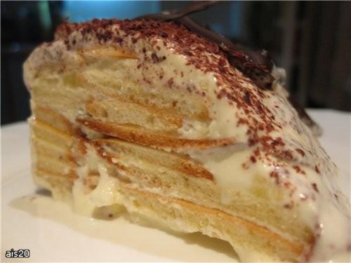 Лариса, большущее тебе спасибо за твой тортик из детства, я его первый раз пробую и очень довольна... - 2