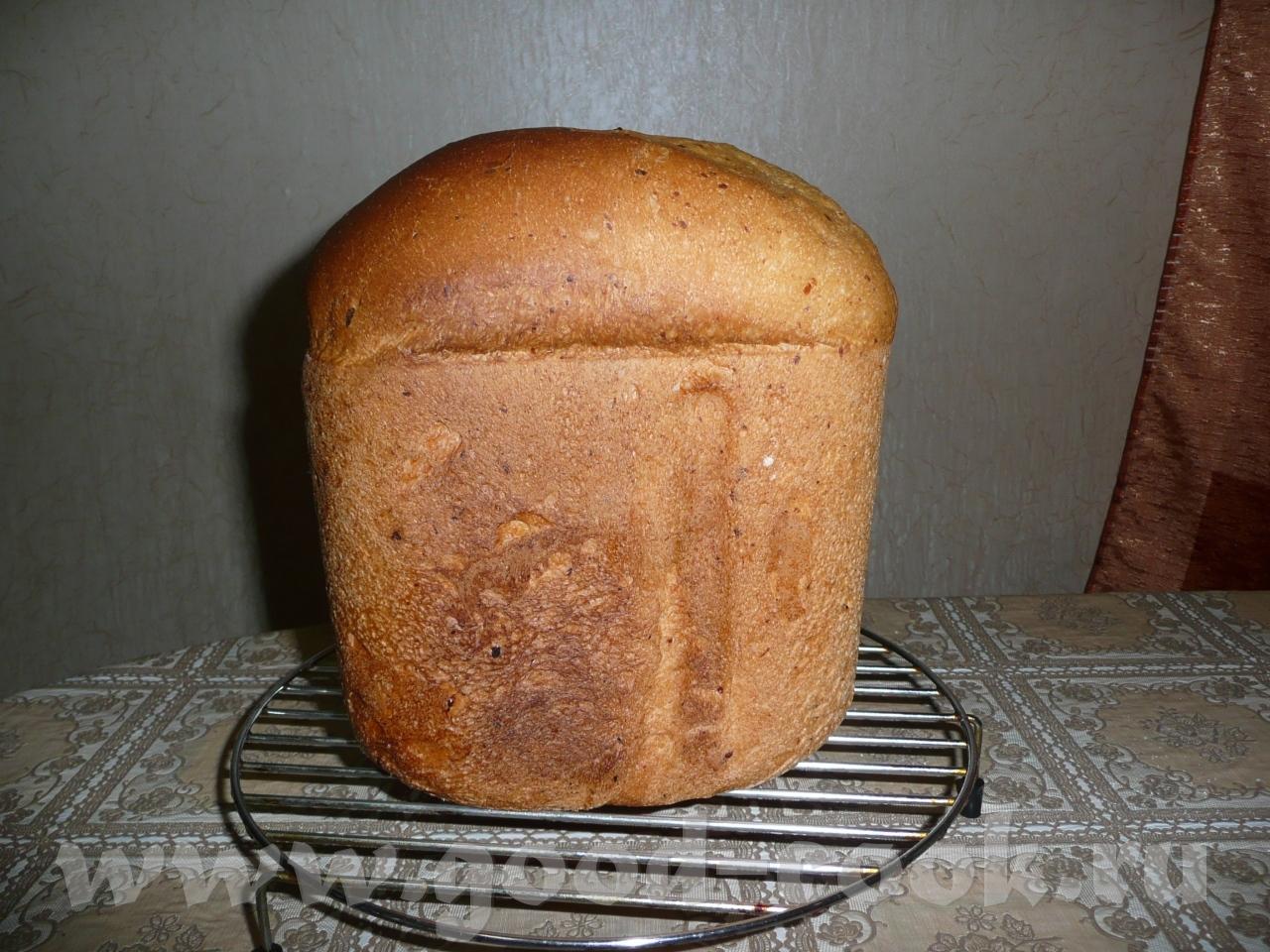 Хлеб на живых дрожжах рецепт