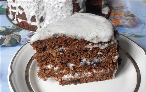Торт со смородиновым вареньем на кефире рецепт с фото пошагово