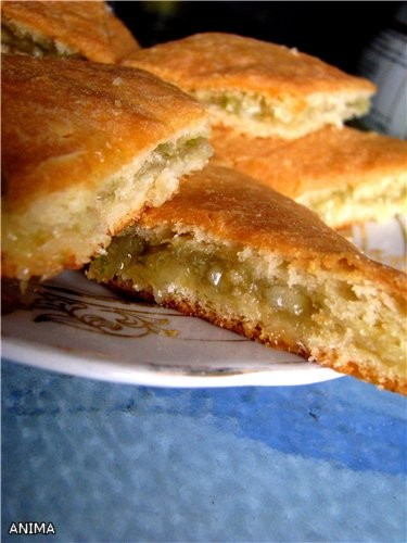 Лимонный пирог дрожжевой рецепт с фото