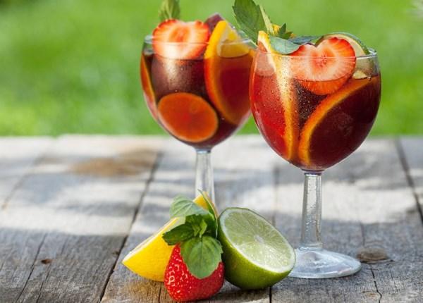 винный коктейль