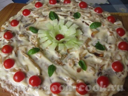 Также в честь праздника решила сделать печеночный тортик, что-то я очень давно его не делала, а он... - 2