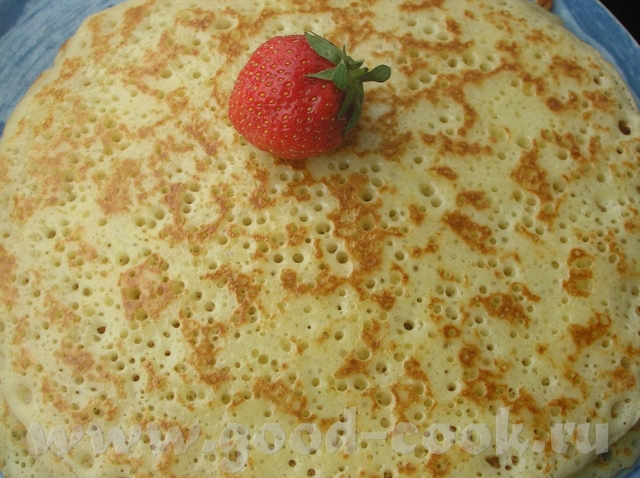 Рецепт блинов на молоке с яйцами пошаговый