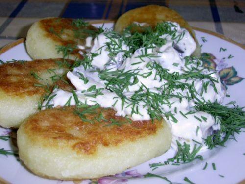 Картофельники с мясом рецепт с фото
