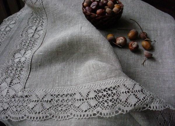Льняные ткань своими руками 39