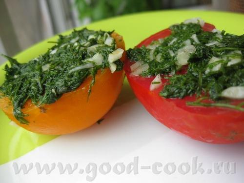 А у меня сегодня на ужин были Помидоры с зеленью от Кутовой Ирины И спагетти с овощами и запеченной...